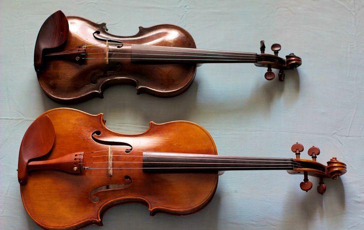 violin vs viola five differences